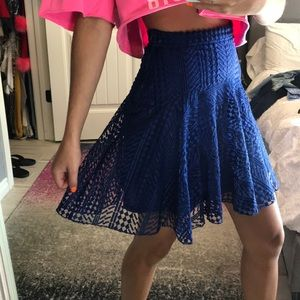 H&M fashion collection skirt